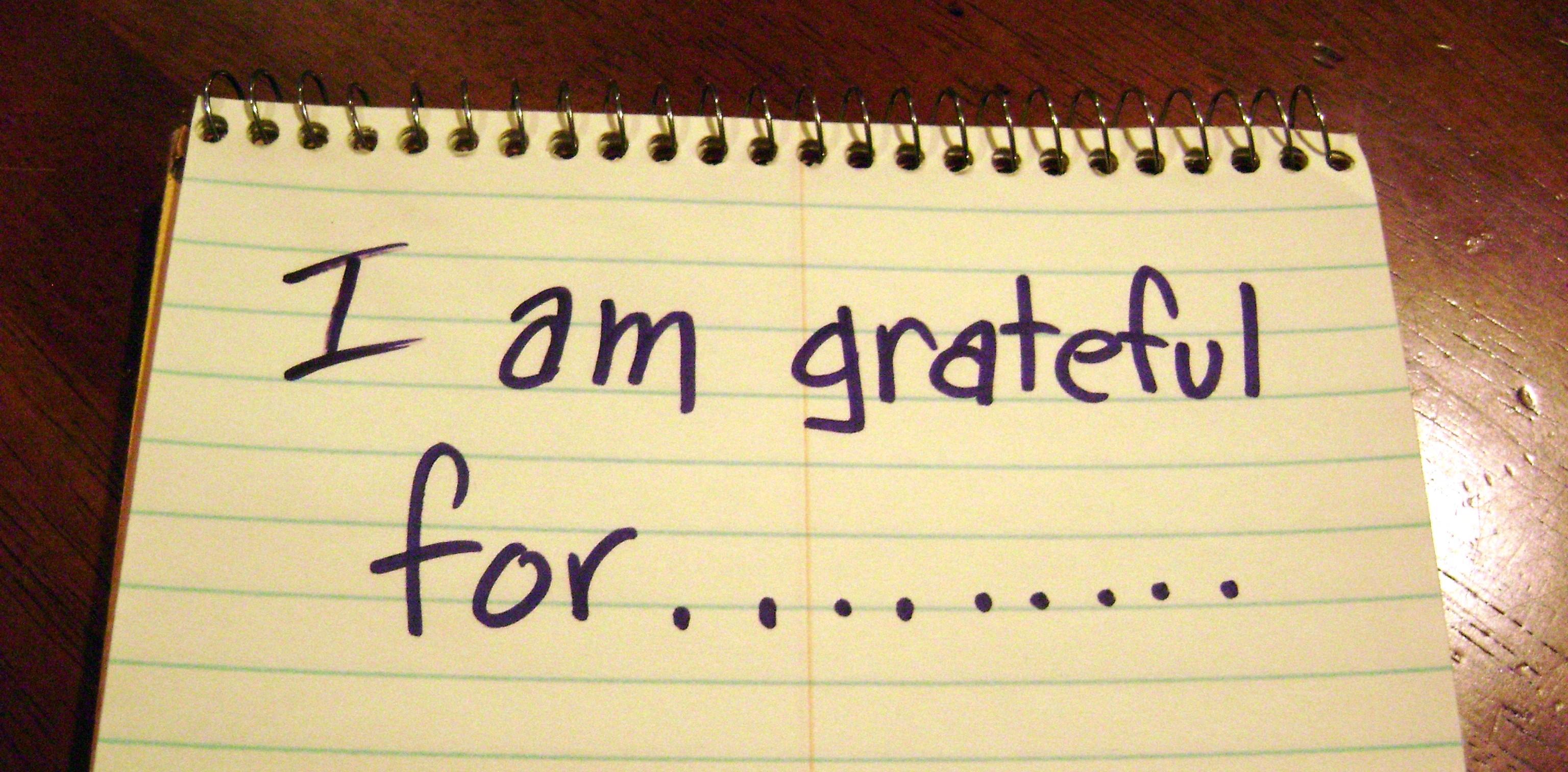2015 Gratitude