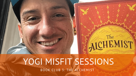 Yogi Misfit Book Club The Alchemist