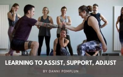 Learning to assist, support, adjust